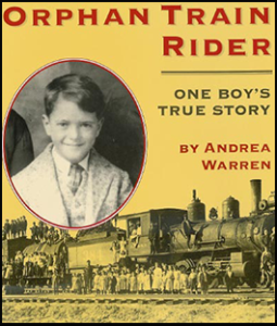 Orphan Train Rider Book Jacket