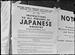 1942 Informing Japanese Americans